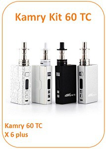 kamry kit 60 tc vapofolies