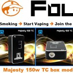 majesty 150w tc box mod vapofolies