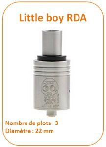 little boy rda vapofolies