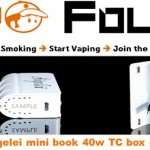 sigelei mini book 40w tc vapofolies