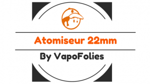 atomiseur reconstructible 22mm