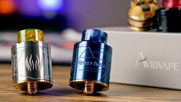 avidvape ghost inhale rda review